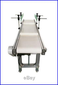 Baffle Type Conveyor/White Color PVC Belt Shipping Conveying Machine/5911.8