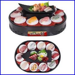 Battery-powered conveyor belt sushi Sushi maker