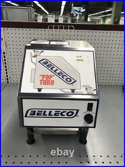 Belleco PT-1 (200 Slices per HR) Pop Through Toaster with 6 Conveyor Belt