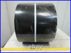 Black Interwoven Polyester Coated Friction Top Conveyor Belt 250' x 19 x 5/32