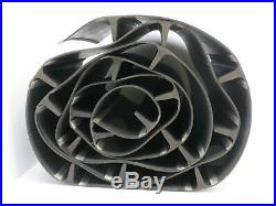 Black Rubber Cleated Incline Decline Conveyor Elevator Belt 13 x 17' 11