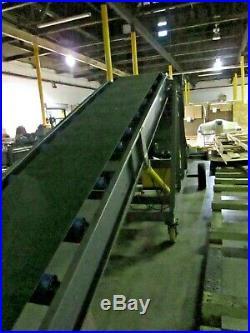 Brand New Conveyor (8 Feet High X 34 Ft Long, Belt 25.5 Wide)