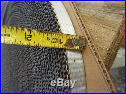 Cambridge Wire Precision Flat 304 Stainless Steel Mesh Conveyor Belt 1 W 100' L
