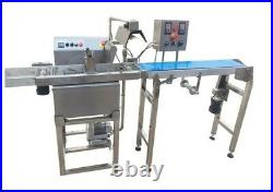 Chocolate Enrobing Machine with Conveyor Belt