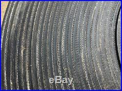 Conveyor Belt 2 Ply Black 20 x 145ft smooth Rubber