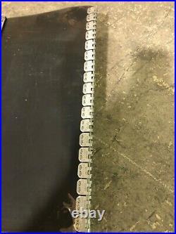 Conveyor Belt 24ftx18in /aligator Rs125 Lacing
