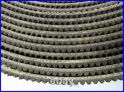Conveyor Belt 3-Ply Rough Grip Top Incline Black Rubber 12x 5/16 x 88' 4