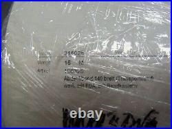 Conveyor Belt Food Grade White w FDA 140mm x 15m 2 Ply w Band Edges 300052