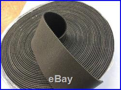 Conveyor Belt Roll, 5 Inches Wide, 100 Feet Long, New