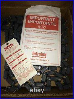 Conveyor Belting Marel Intralox 23.33 Ft 2 Knuckle Chain Series 3000 280 Rows