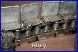 Conveyor belt 1864AK3-1/4 Stainless top plate TableTop Rexnord Unused