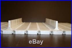 Conveyor belt Series 400 withflights FlatTop 17.75x72 inches Intralox Unused