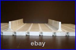 Conveyor belt Series 400 withflights FlatTop 17.75x80 inches Intralox Unused