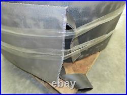 Corrugated Sidewall Cleated Belt Conveyor Belting 16 Wide 47' 9 Length