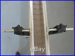 DEPENDABLE EQUIPMENTS CONVEYOR 4'x 4 WITH PLASTIC TABLE TOP BELT