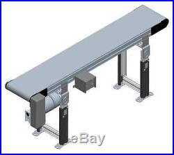 DORNER 3200 Belt Conveyor, 10 ft. L, 12 In. W, 130 lb