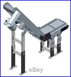 DORNER 3200 Cleated Belt Conveyor, 6 ft. L, 12 In. W