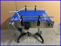Dependable Equipments Conveyor 3 Ft X 27 Inches Wide With Plastic Modular Belt