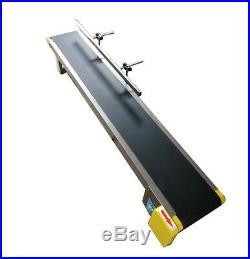 Desktop style Newest Conveyor/PVC Belt/110V Electric/59''x 7.8''/Single Fence