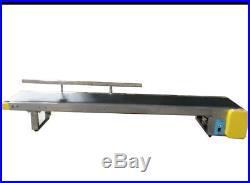 Electric 110V 59 Desktop Belt Conveyor Machine Portable Package Equipment New