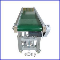 Electric 110V PVC Inclined Conveyor Belt Machine Decline Belt Conveyor TOP Grade
