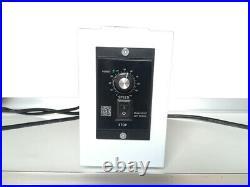 Electric Belt Conveyor 59x 11.8 White PVC Adjustabler Height & Speed Flat Type
