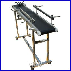 Enhanced Flat Conveyor for Transporting withMotor 597.8in with25.9 Long Fences