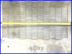 Flat flex stainless steel food grade wire belt conveyor belt 28 inch