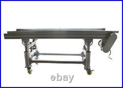 Food Grade Conveyor-PU Belt Conveyor System 5911.8 0-20m/min Speed #230556