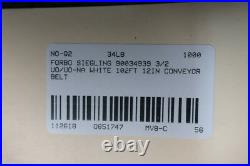 Forbo Siegling 90034939 Conveyor Belt 3/2 Uo/uo-na White 102ft 12in