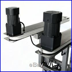 Fortex Stainless Steel Bottomless Side Belt Gap Transfer Conveyor Hugger Belt
