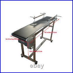 Free Shipping! 59 X 11.8 PVC Belt Conveyor Machine, Packing Supply, US Shipping