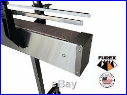 Furex Stainless Steel 10' x 4 Inline Conveyor with Plastic Table Top Belt