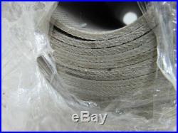 Gray Incline Sticky Top Conveyor Belt 70' X 25 X 0.104 Thick