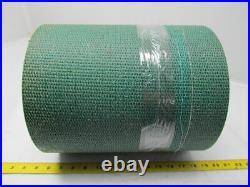 Green woven hard heavy duty conveyor belt 13ft x 12-1/8x1/4 thick