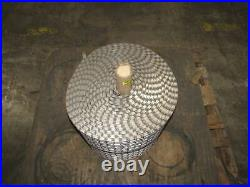H1 1x1 Heavy Duty Stainless Steel Welded Savage Conveyor Belt, 17 x 41