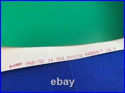 HABASIT HNB-5E CONTINUOUS CONVEYOR BELT 200mm Wide X 2170mm Long GREEN