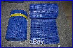 Habasit  Conveyor Chain Belt blue 1' ft wide x 10' ft LOT 2 PN# 159520