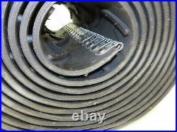 Heavy Duty V-Ribbed Cleated Rubber Conveyor Belt 18x 26' 5