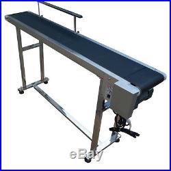 Hot New Single Guardrail PVC Conveyor Belt 110V 597.8inch Popular Free Shipping