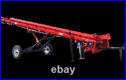 Hud-Son Forest Equipment 20 foot wood conveyor belt conveyor elevator firewood