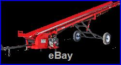 Hud-Son Forest Equipment Wood Elevator 24 foot belt conveyor