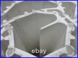 INTRALOX Series 800, Flat top, White, 10'L x 13.4W, Polypropylene Conveyor Belt