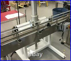 Inline Conveyor Table Top Belt 120L X 4.5 W Continuous or Indexing