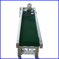 IntBuying Incline Conveyor 5911.8 Multifunction PVC Belt Conveyor System New