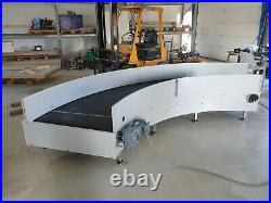 Interroll Portec, conveyor belt 90 degree curve No Motor Express Shipping