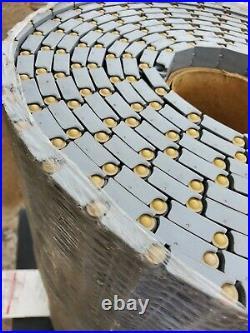 Intralox 900 Series Flat Top Plastic Conveyor Belt Chain 23.9 x 20 Ft GREY 72