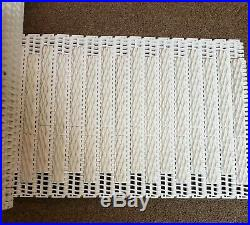 Intralox Conveyor Belt Series 900 Diamond Friction Top 12 X 29ft White Flush