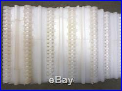 Intralox Flat Top Plastic Conveyor Belting Series 800, 7 X 20', 2 Flights