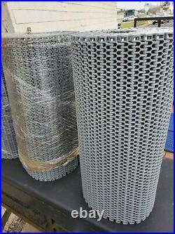 Intralox Plastic Conveyor Belt Chain 25.4 x 20 Ft GREY. 25 3/8